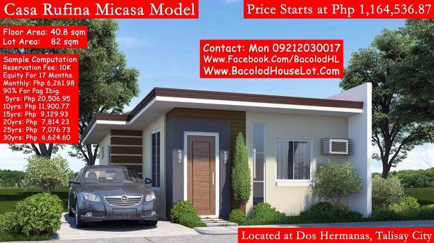 Casa rufina dos hermanas bacolod house lot for sale - Comprar casa dos hermanas ...